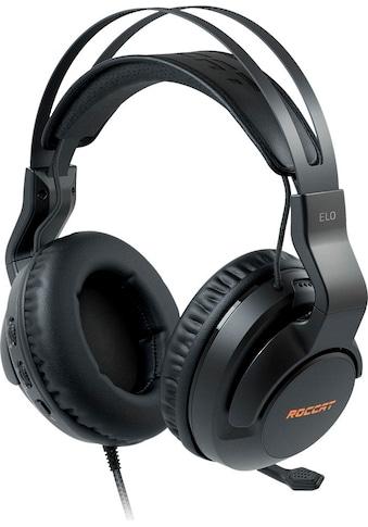 ROCCAT Gaming-Headset »Elo 7.1 USB - Surround-Sound RGB PC«, Mikrofon abnehmbar-Rauschunterdrückung kaufen