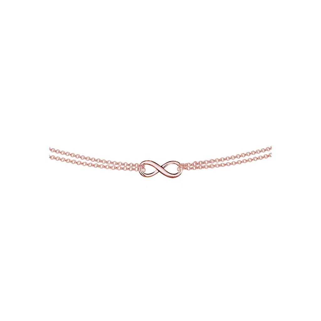 Elli Collier »Choker Erbskette Infinity Unendlichkeit 925 Silber«