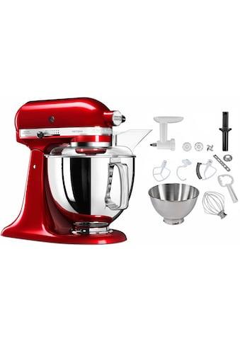 KitchenAid Küchenmaschine 5KSM175PSECA Artisan, 300 Watt, Schüssel 4,8 Liter kaufen
