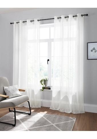 andas Vorhang »visby«, halbtransparent, monochrom, basic, pflegeleicht kaufen