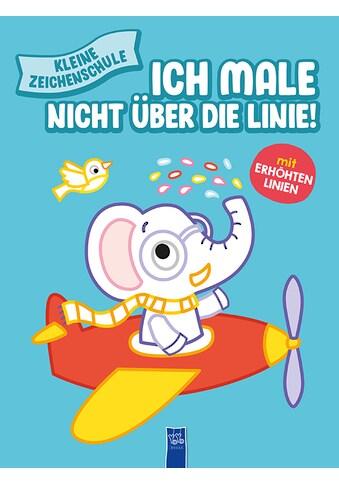 Buch »Kleine Zeichenschule - Ich male nicht über die Linie (blau) / DIVERSE« kaufen