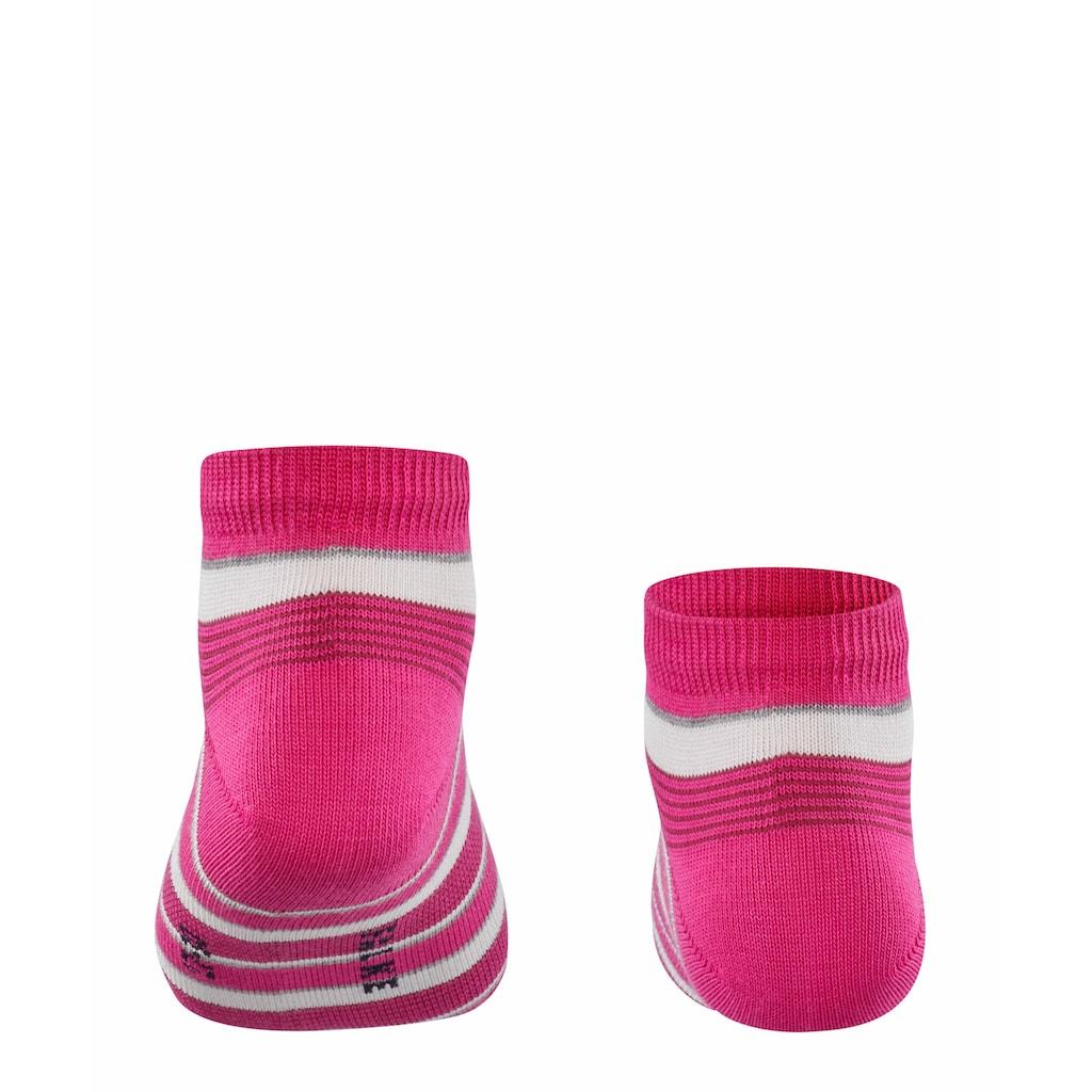 FALKE Sneakersocken »Mixed Stripe«, (1 Paar), mit Baumwolle