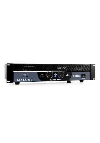 Malone PA-Endstufe Verstärker 2000 W brückbar »DX2000« kaufen