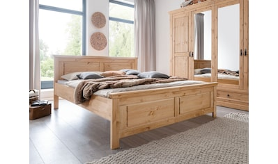 Premium collection by Home affaire Bett »Magyc«, aus Massivholz kaufen