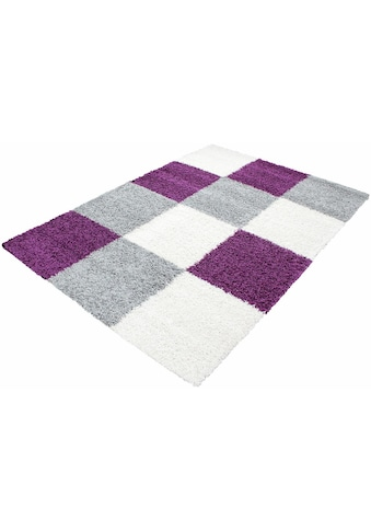 Ayyildiz Hochflor-Teppich »Life Shaggy 1501«, rechteckig, 30 mm Höhe, Wohnzimmer kaufen