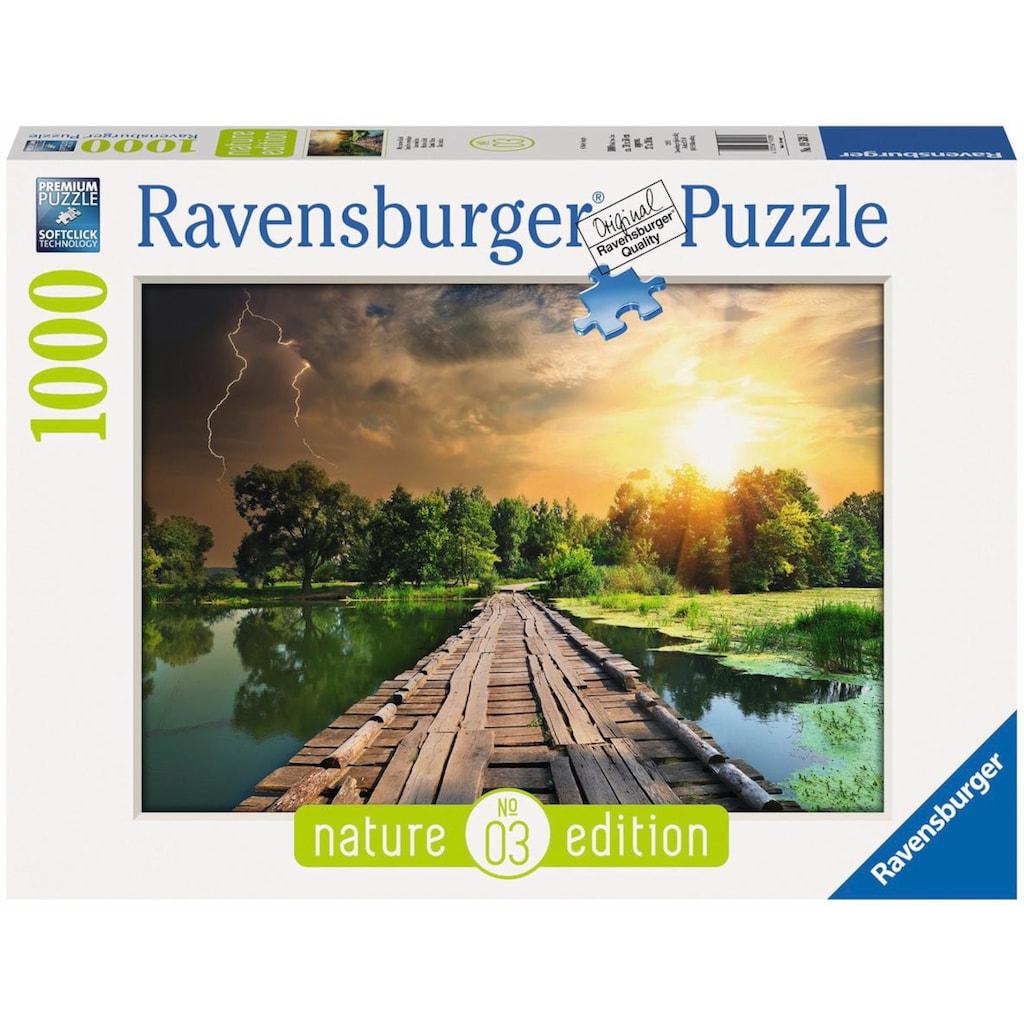 Ravensburger Puzzle »Mystisches Licht - Nature Edition«, Made in Germany, FSC® - schützt Wald - weltweit