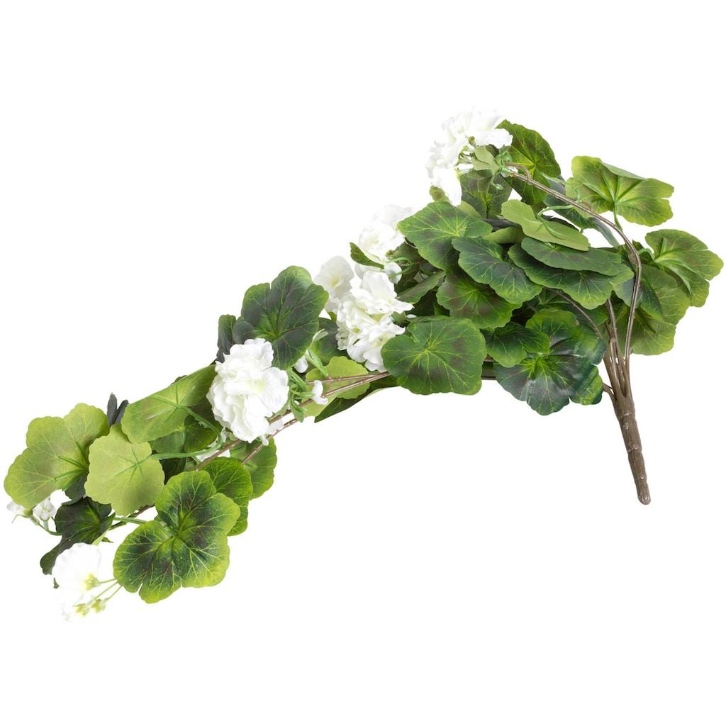 Botanic-Haus Kunstblume »Geranienhängebusch«