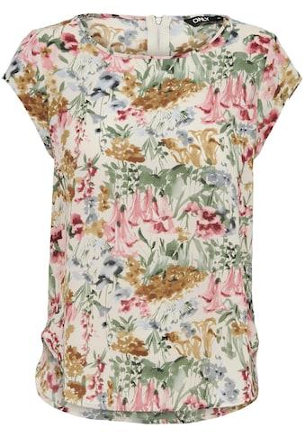 Only Shirtbluse »ONLVIC«, in verschiedenen Allover-Prints kaufen