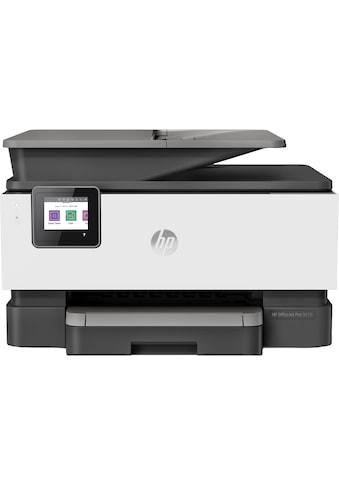 HP OfficeJet Pro 9010 All - in - One - Drucker (3UK83B) »Drucken, Kopieren, Scannen, Faxen« kaufen