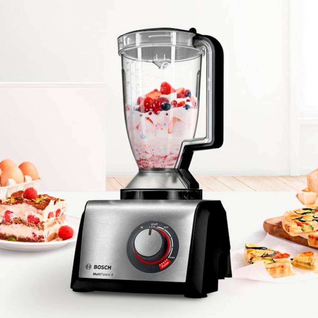 BOSCH Kompakt-Küchenmaschine »MultiTalent 8 MC812M865«, 1250 W, 3,9 l Schüssel