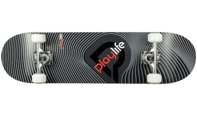 Playlife Skateboard »Illusion Grey« kaufen