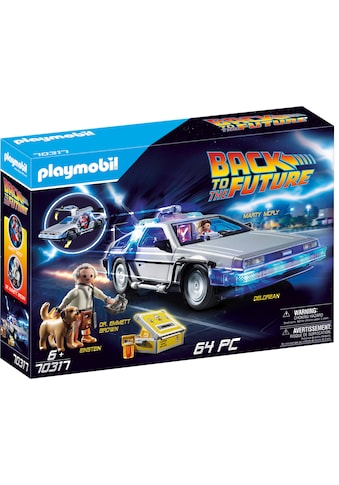 "Playmobil® Konstruktions - Spielset ""Back to the Future DeLorean (70317),Playmobil Back to the Future"", Kunststoff kaufen"