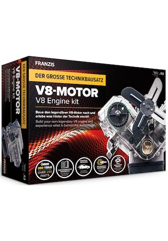 Franzis Experimentierkasten »Bausatz V8-Motor« kaufen