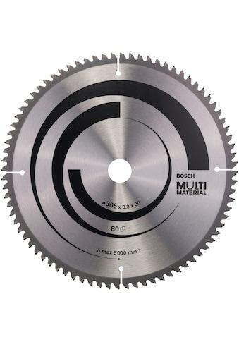 BOSCH Kreissägeblatt »Multi Material«, 305 x 30 x 3,2 mm; 80 kaufen