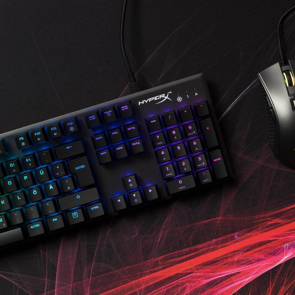 HyperX Gaming-Tastatur »Alloy FPS RGB Mechanical«, (Multimedia-Tasten-USB-Anschluss-Ziffernblock)