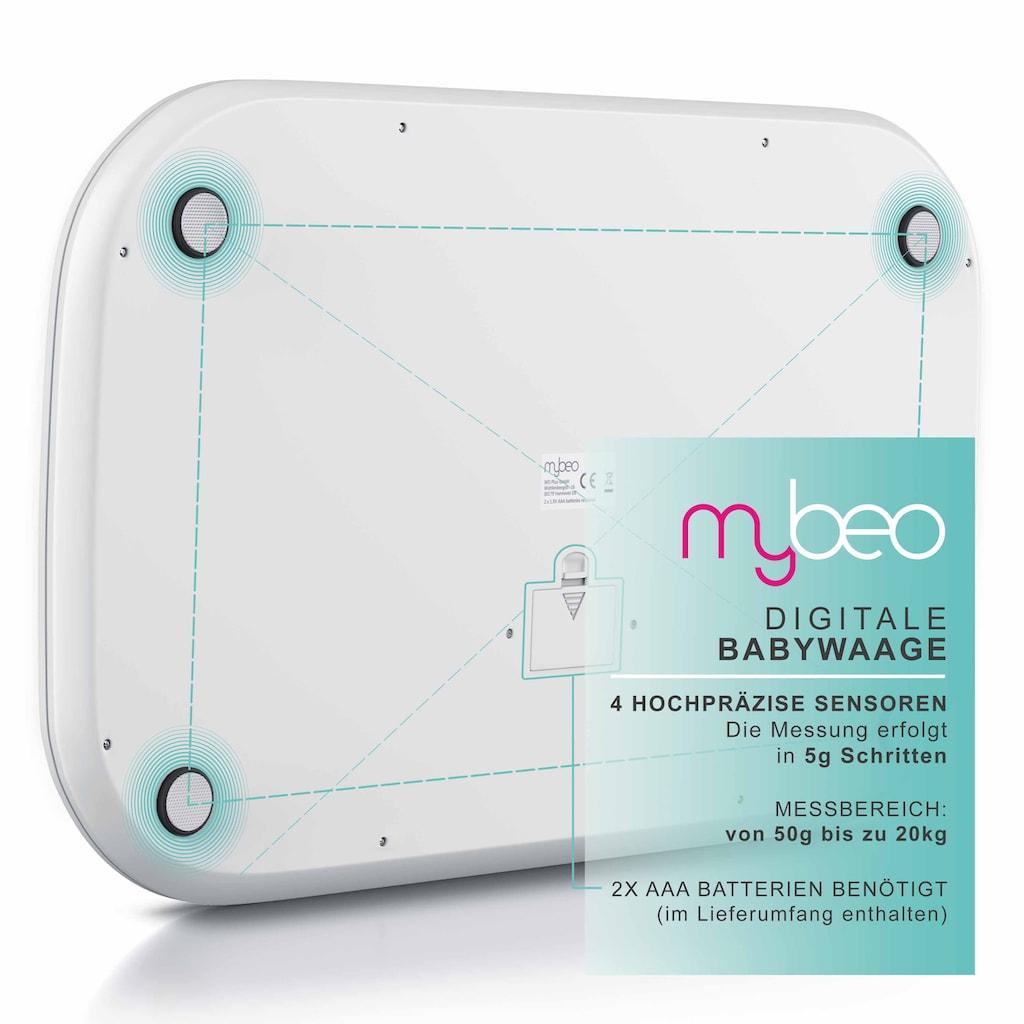 MyBeo Digitale Babywaage mit Display