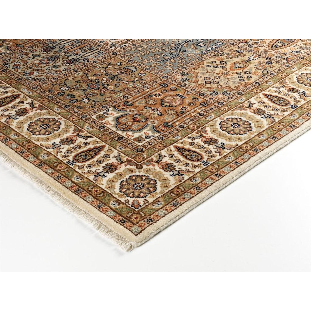 OCI DIE TEPPICHMARKE Orientteppich »Sarang Bakhtyari«, rechteckig, 8 mm Höhe, reine Wolle, handgeknüpft, mit Fransen, Wohnzimmer