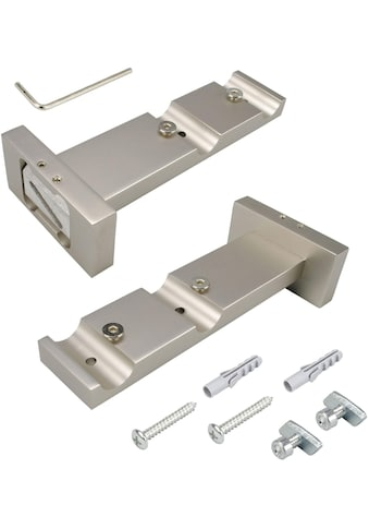 Liedeco Doppelträger, (1 St.), für Gardinenstangen Ø 16 mm kaufen