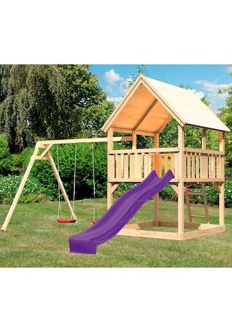 ABUKI Spielturm »Lenie«, BxTxH: 440x264x345 cm kaufen