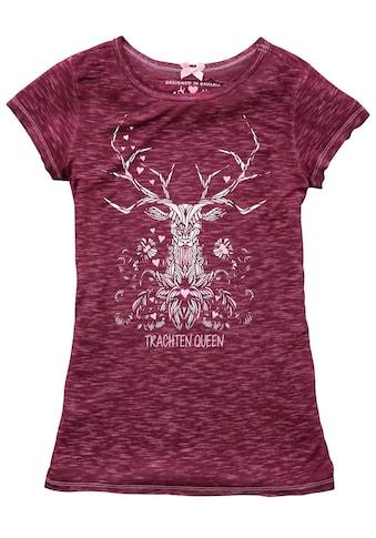 Hangowear Trachtenshirt, mit Hirschdruck kaufen