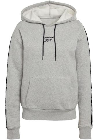 Reebok Kapuzensweatshirt »TE Tape Pack Hoody« kaufen