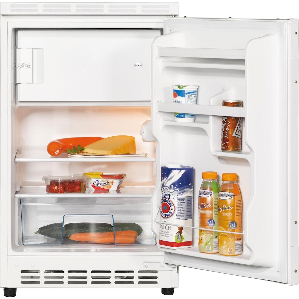 Amica Einbaukühlschrank, 78,5 cm hoch