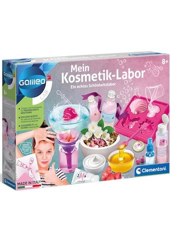 Clementoni® Experimentierkasten »Galileo Mein Kosmetik-Labor«, Made in Europe kaufen