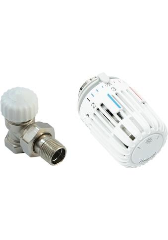 CORNAT Heizkörperthermostat »Eck«, Thermostatventil und Kopf kaufen