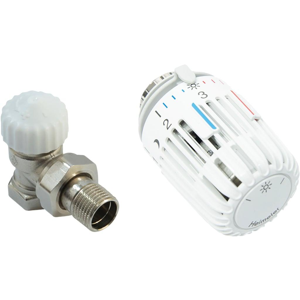 CORNAT Heizkörperthermostat »Eck«, Thermostatventil und Kopf