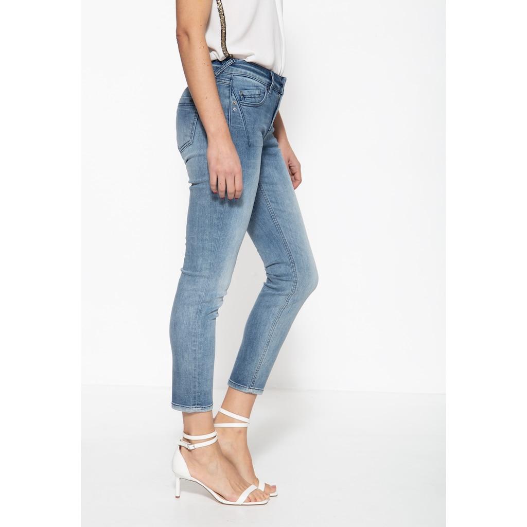 ATT Jeans 5-Pocket-Jeans »Leoni«, mit legeren Waschungen