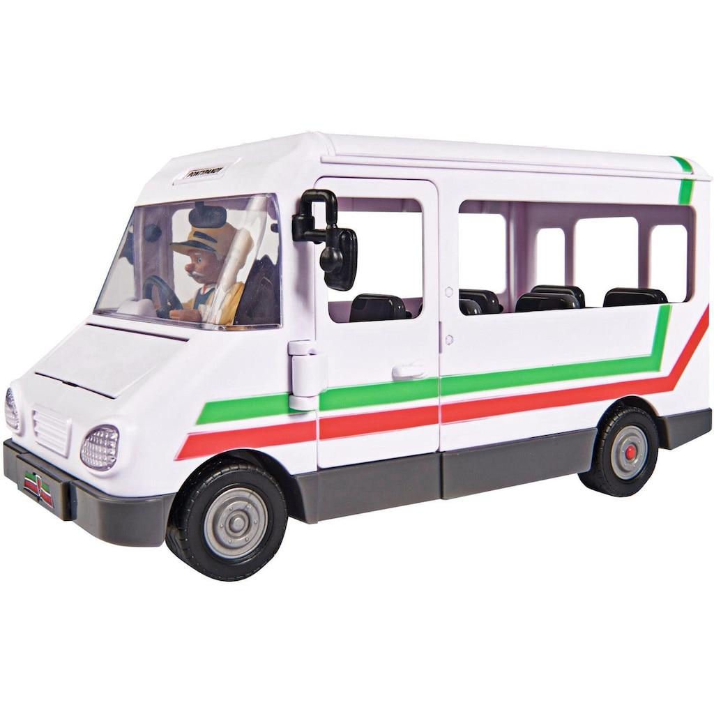 SIMBA Spielzeug-Bus »Feuerwehrmann Sam, Trevors Bus«, mit Figur