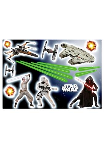 KOMAR Packung: Wandtattoo »Star Wars«, 17 - teilig kaufen