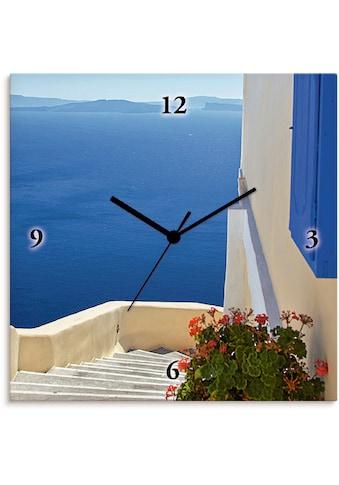 Artland Wanduhr »Treppen ins Blaue hinein«, lautlos, ohne Tickgeräusche, nicht... kaufen