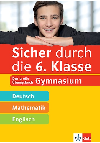 Buch »Klett Sicher durch die 6. Klasse - Deutsch, Mathematik, Englisch / DIVERSE« kaufen