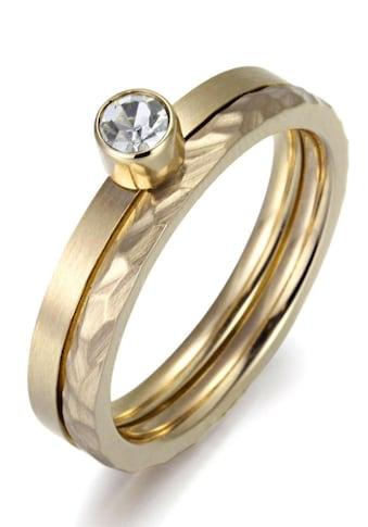 Firetti Ring - Set »4,0 mm, matt -  und glanzoptik, einzeln tragbar« (Set, 2 tlg.) kaufen