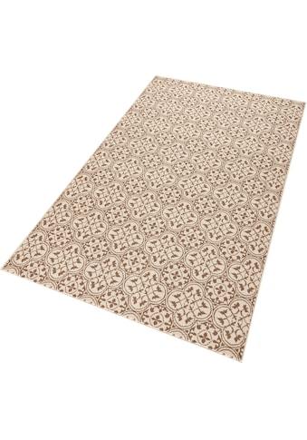HANSE Home Teppich »Pattern«, rechteckig, 9 mm Höhe, Muster in Fliesen-Optik, Wohnzimmer kaufen