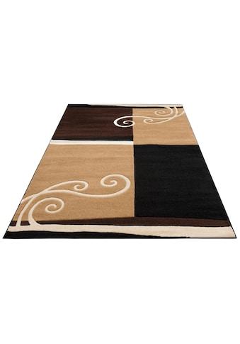 DELAVITA Teppich »Sabal«, rechteckig, 10 mm Höhe, Handgearbeiteter Konturenschnitt,... kaufen