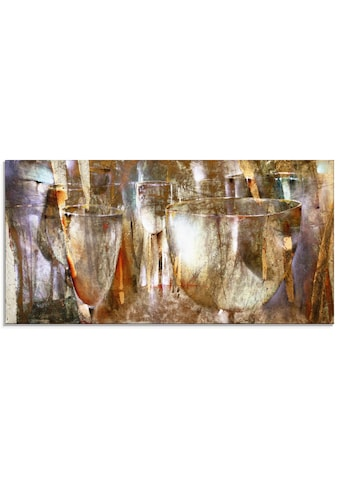 Artland Glasbild »Lichtspiel«, Getränke, (1 St.) kaufen
