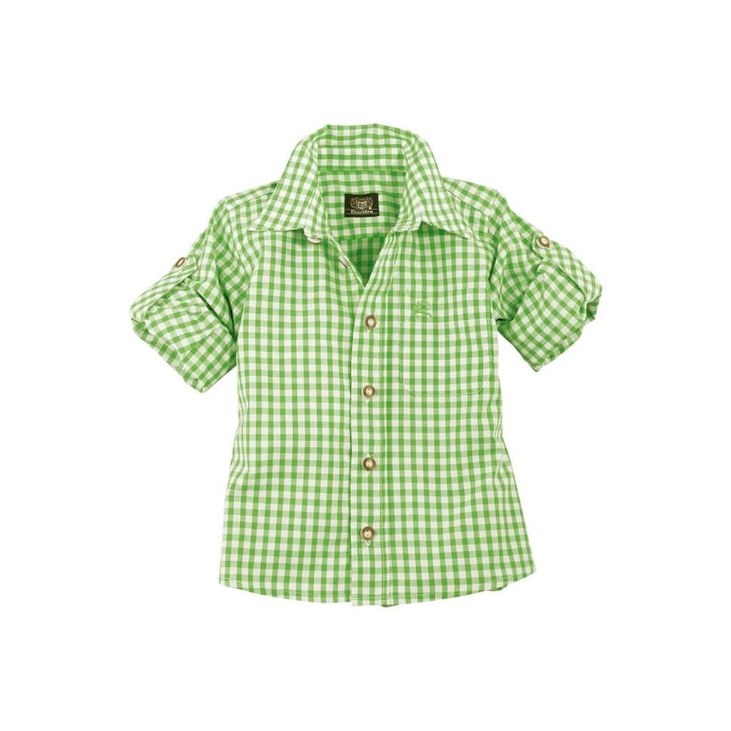 OS-Trachten Trachtenhemd, Kinder kariert für Mädchen und Buben