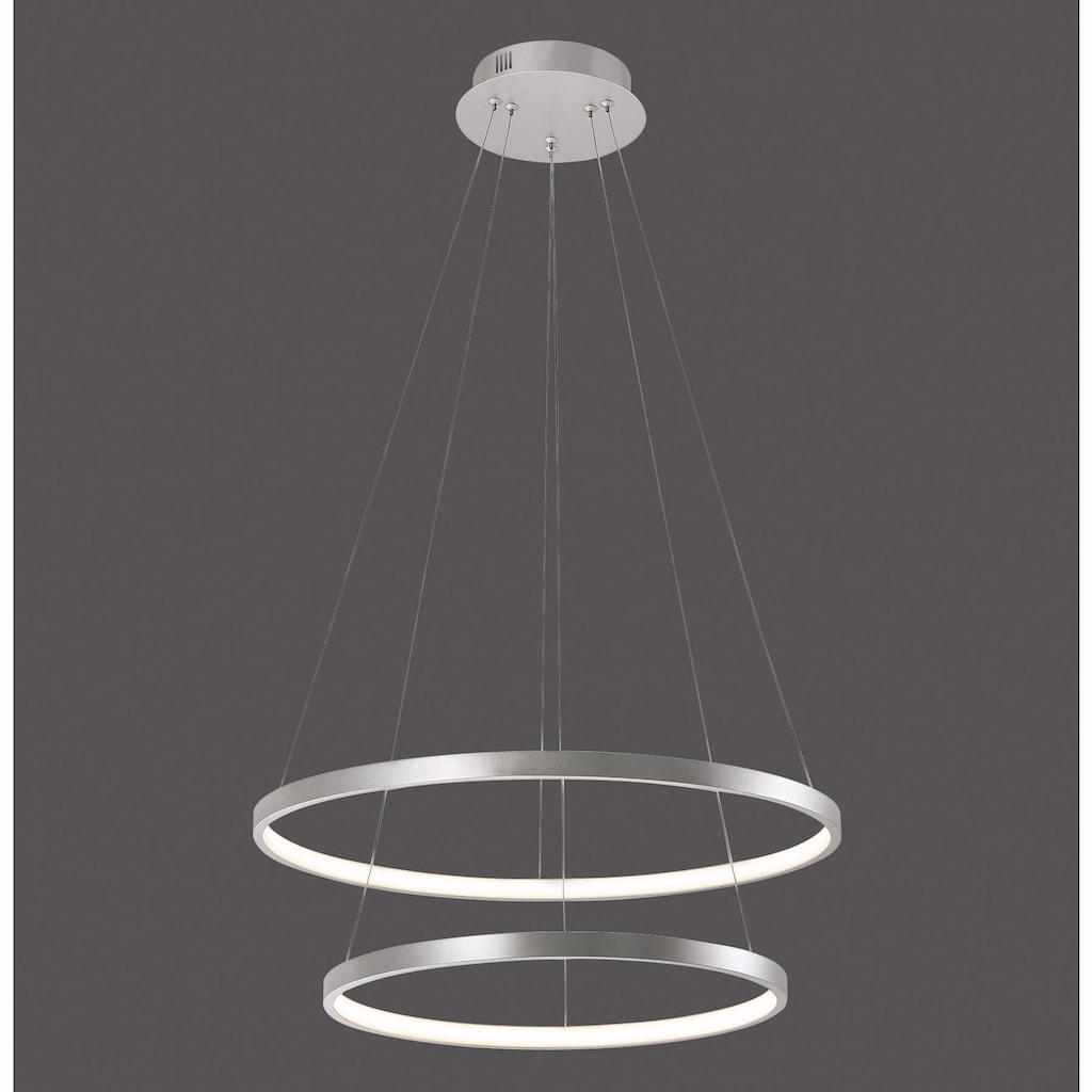 Leuchten Direkt LED Pendelleuchte »CIRCLE«, LED-Board-LED-Board, 1 St., Warmweiß, LED Hängelampe, LED Hängeleuchte