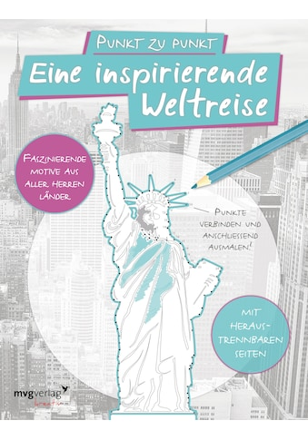 Buch »Punkt zu Punkt: Eine inspirierende Weltreise: Malbuch für Erwachsene / DIVERSE« kaufen