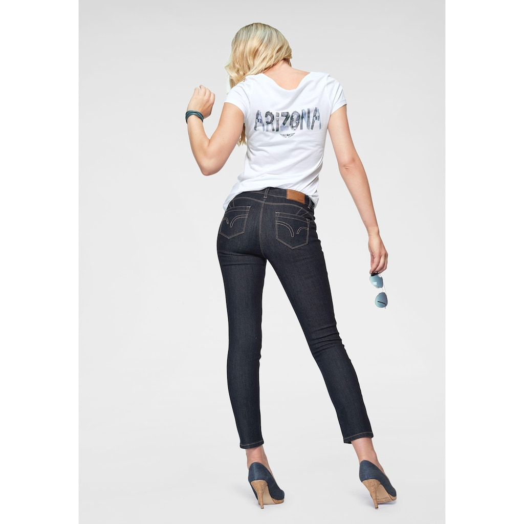 Arizona 7/8-Jeans »Shaping«, Mid Waist
