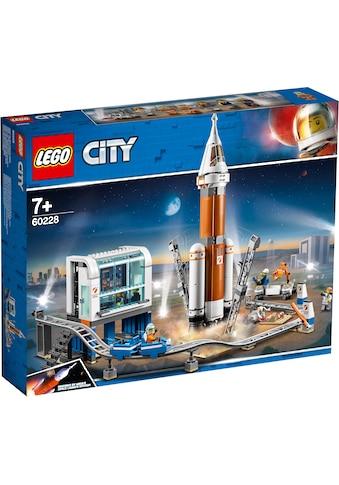 LEGO® Konstruktionsspielsteine »Weltraumrakete mit Kontrollzentrum (60228), LEGO® City... kaufen