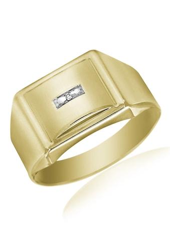 Firetti Siegelring »im klassischen Design«, mit Diamant kaufen