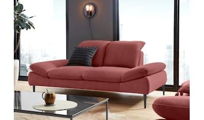 W.SCHILLIG 2-Sitzer »enjoy&MORE«, mit Sitztiefenverstellung, Füße schwarz... kaufen