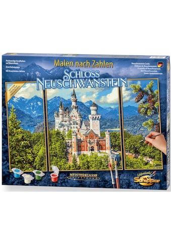 Schipper Malen nach Zahlen »Meisterklasse Triptychon - Schloss Neuschwanstein«, Made... kaufen