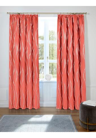 Guido Maria Kretschmer Home&Living Vorhang »Prag«, Verdunkelungsvorhang, mit... kaufen