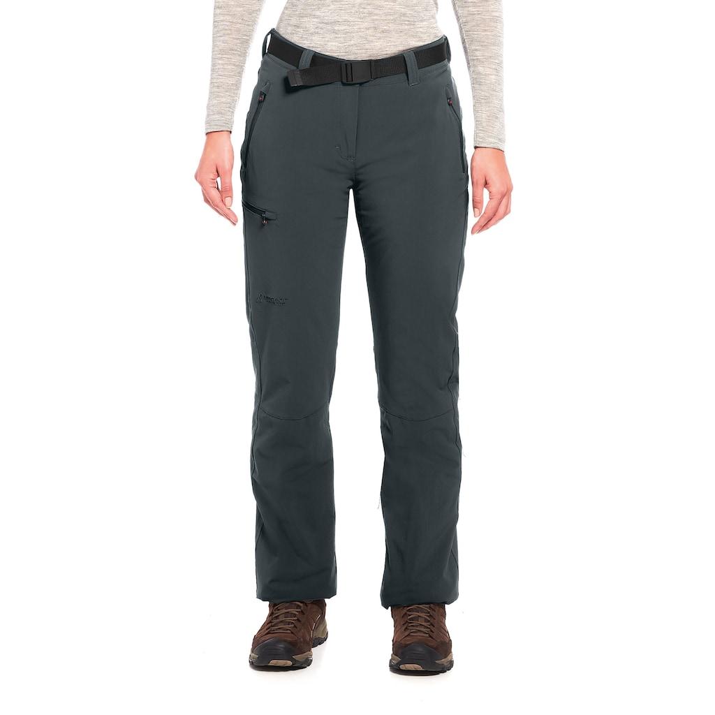 Maier Sports Funktionshose »Rechberg Therm«, Wattierte Winter Outdoorhose, elastisch