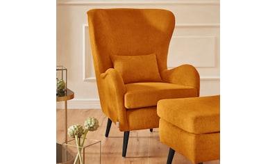 Guido Maria Kretschmer Home&Living Sessel »Salla«, wahlweise mit oder ohne Hocker;... kaufen