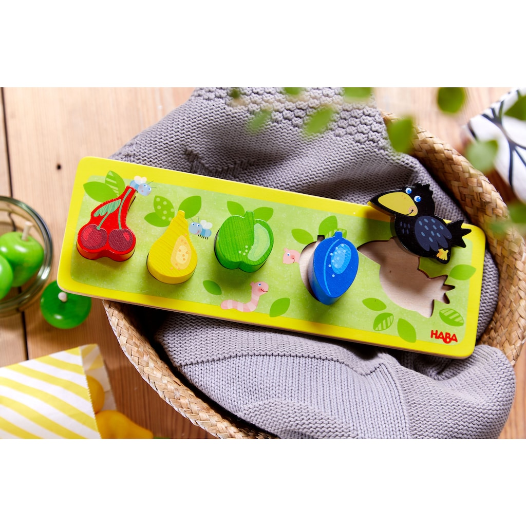 Haba Steckpuzzle »Obstgarten«, Made in Germany